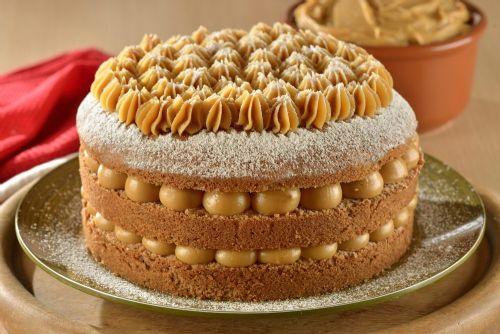 Churros inspiram este delicioso bolo